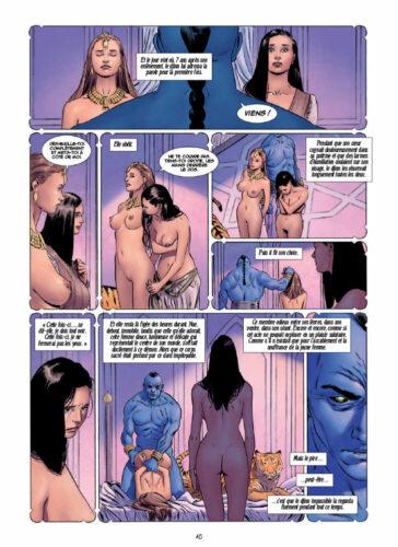 Mille et une nuits volume 1 Trif Celestini bd erotique volume 2 porno extrait gratuit 17